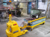 4000 kg electric power tug with dok-x 2000kg scissor lift table