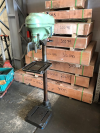 Meddings Pillar Drill, No 2 Morse Taper, Belt Driven, Driv Loc Insta Brake, 13 x 14 Rise and Fall Table
