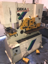 GEKA HYDRACROP HYDRAULIC IRON WORKER
