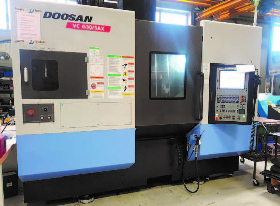 with Heidenhain iTNC 530 CNC Control, 