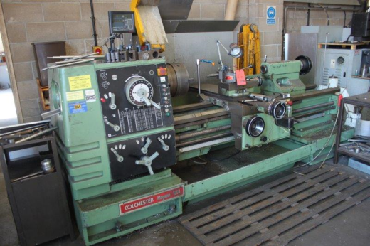 "COLCHESTER MAGNUM 1250 X 60"" Gap bed lathe