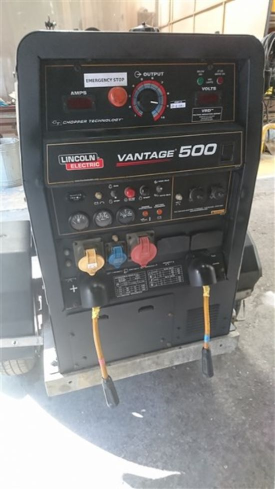Due in The Vantage 500 are one of the most compact and powerful engine driven welders/generators in