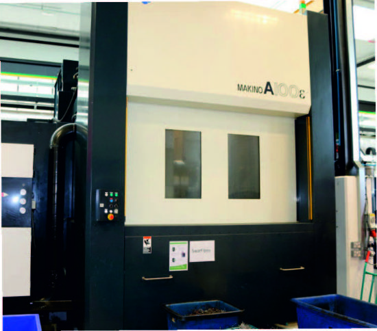 Makino A100 Large Volume 5-axis Machining Centre with High Performance