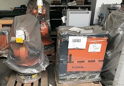 Consists Off: Kuka KR 16 L6 Welding Robot; 