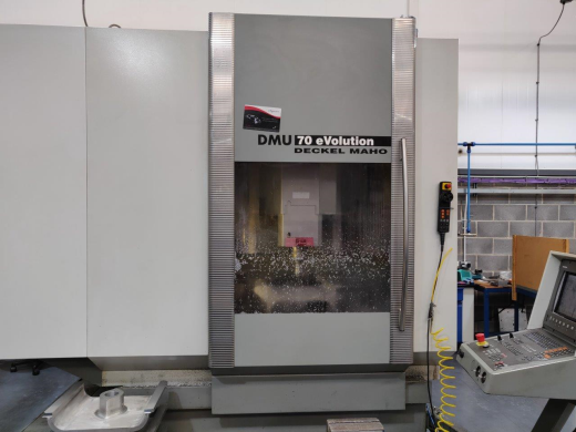 Deckel Maho DMU70 Evolution, 2001, Full 5-axis, s/n 15035703424, Heidenhain TNC426 control, CAT 40 T