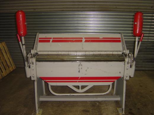 Length 1270mm, Capacity 2.6mm, Segmented folding beam,