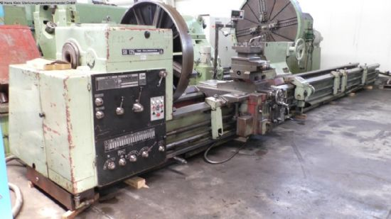turning diameter over bed	1250 mm