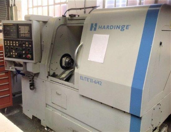 YOM: 2007 Stock Number: clu/0169 Hardinge Elite 6/42 Sr II, 3-Axis CNC lathe with driven tools, C-