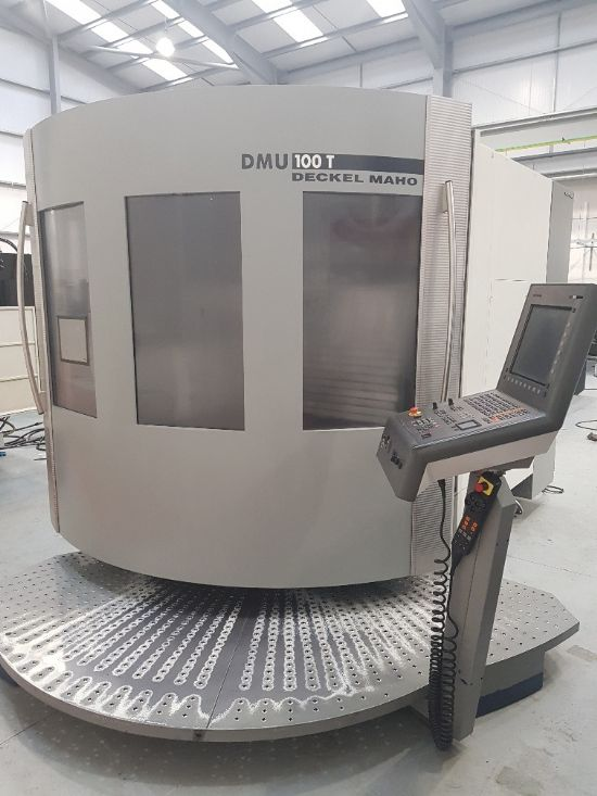 Heidenhain 530i , Full 5 axis, B axis turning head , SK40, 800mm dia table with full C axis, X=1080
