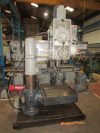 46 /1168mm Radial Drill with Rise and Fall Table.