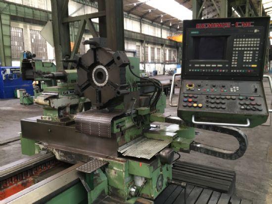 YOM: 1974 retrofit 2010 Siemens Sinumerik 820 control Technical details: Turning diameter: 1,380m