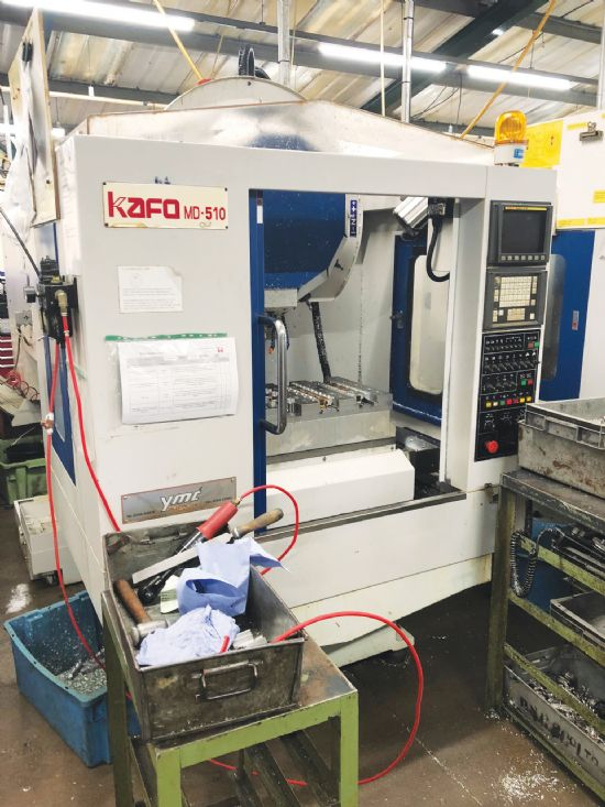 Year 2007. Choice of two.  Fanuc OMC control, 22-station turret, BT30 holders, 12,000rpm.  £12,000