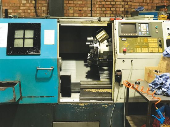 1998. With Fanuc 0T control, fitted with collet chuck, full set of collets, 56mm 12-station turret,