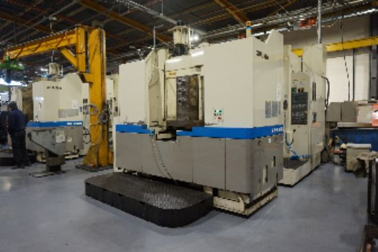 with OSP U100M Control, Twin Pallet, X-Axis 800mm, Y-Axis 800mm, Z-Axis 800mm, Table 600 x 600. S/No