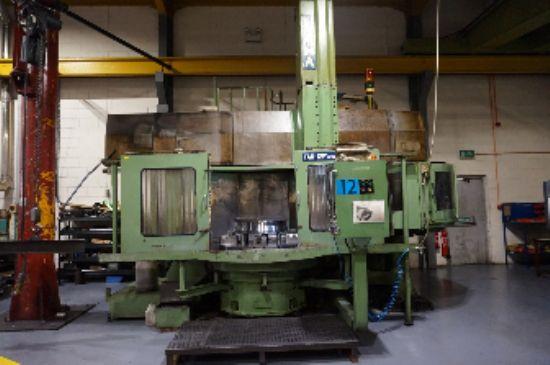 with Fanuc 15TControl Chuck 1200mm Diameter, Swing 1600mm, Height 950mm, Maximum Load 6000 Kgs, Bott