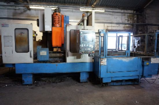 with Mazatrol M-32 Control, Twin Pallet, MC Table Size 1.3m x 550mm, 33 ATC. S/No. 110004 (1996)