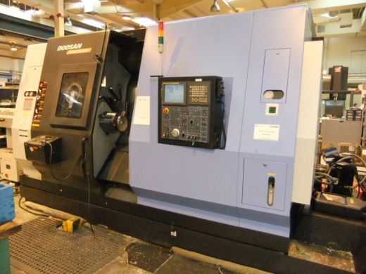 DAEWOO PUMA MX2500 5 AXIS TURNING CENTRE 750mm Swing Over Bed : 600mm Swing Over Saddle : 550mm Maxi