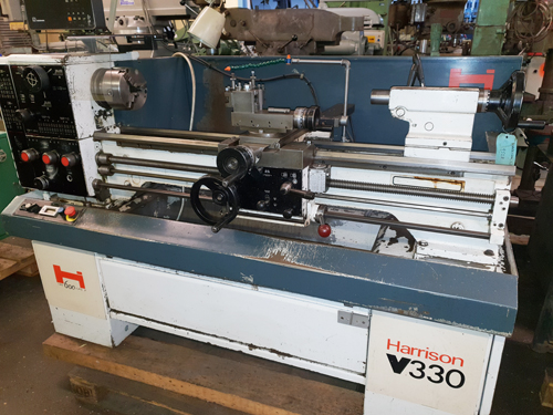 HARRISON V330 STRAIGHT BED CENTRE 1 1/2