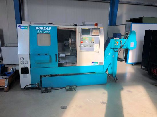Max diameter 360mm, max length 450mm, chuck size 250mm, FANUC 21i, 4500rpm, 0.001o C axis & Milling,