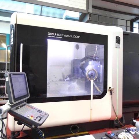 5-axis Universal Machining Centre  Heidenhain iTNC 530 HSCI 3D control NC rotary tible size ø 900