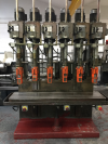 Pollard 150A/6 6 Spindle In line Drilling Machine