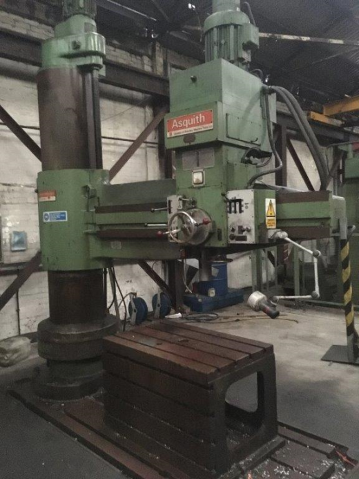 Asquith 8ft Radial Arm Drill Model 6PT 23/96