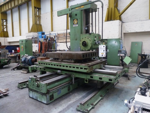 Giddings & Lewis Horizontal Boring Machine