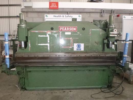 70ton x 10' Capacity Tooling Guards Machine Data: Machine No. 697606/4