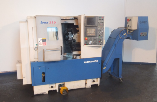 Serial No:  L2002461 280 x 300mm Capacity.  Spindle bore 51mm.  Spindle speed 0-4000rpm.  Equipped