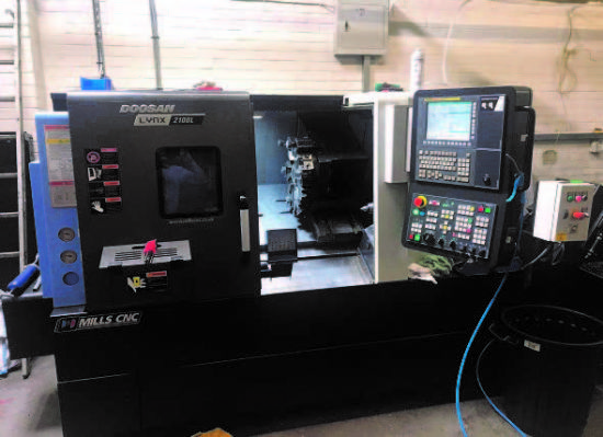 with Doosan Fanuc i-Series Control,