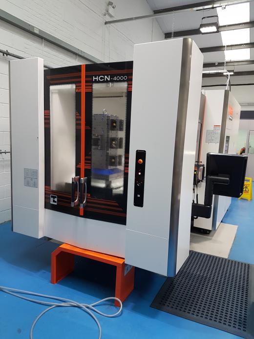 Twin Pallet Horizontal Machining Centre  Mazatrol SmoothG CNC Control Maximum workpiece diameter