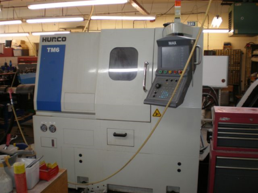 Hurco TM6 CNC Lathe, Age to be confirmed,  s/nTM6-01603046AAA, Max Control, 6