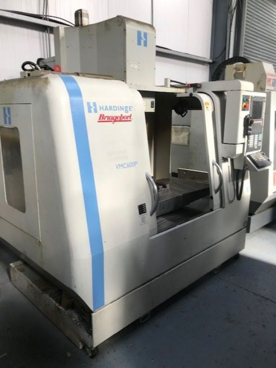 Hardinge Bridgeport VMC 600 P3 with Siemens 810D with Shopmill. YOM 2006