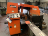 400mm Horizontal Bandsaw.  Manufactured 2006.  With Roller Feed Conveyor
