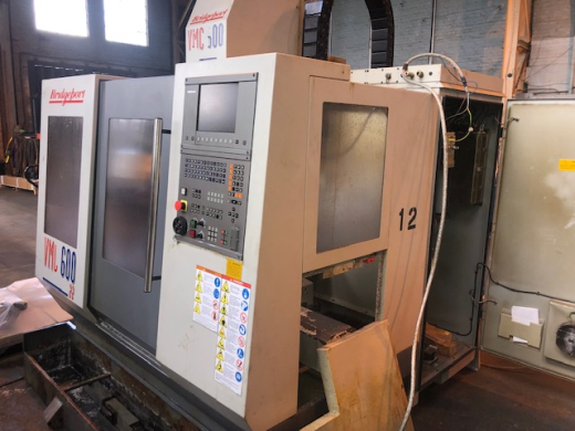 Bridgeport VMC600/22, 1998, Ser No 721636, Heidenhain TNC410PA (Digital), table 840 x 420mm, trav 60