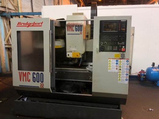Bridgeport VMC600/22, 1997, Ser No 720651, Heidenhain TNC370, table 840 x 420mm, trav 600 x 410 x 52