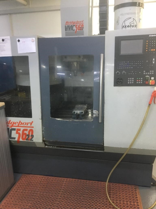 Bridgeport VMC560/22, 1994, s/n 35174, Heidenhain 370 Control, 6000rpm, BT40, table 840 x 360mm, tra