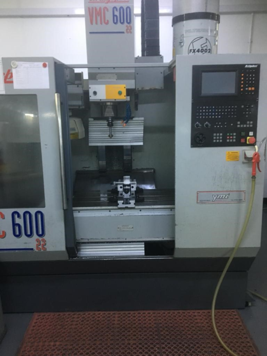 Bridgeport VMC600/22, 1996, Ser No 720130, Heidenhain TNC370, table 840 x 420mm, trav 600 x 410 x 52