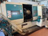 CNC Lathe. Fanuc OT Control.  15 3 jaw chuck, Tailstock and Swarf Conveyor