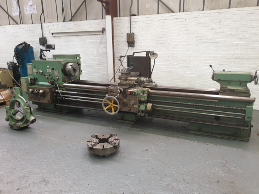MOSTANA 1M63H GAP BED CENTRE LATHE Swing 700mm x 3000mm Between Centres : Swing in Gap 950mm x 500mm