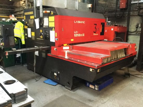 This machine can be yours for £125 per week (UK only) Max Processing Size 2540mm x 1250 including o