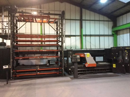 Axis Traverse Distance 3100 x 1550 x 120 Z axis