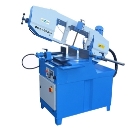 JAESPA Concept 265 GTH - Semi-automatic Bandsawing Machine for mitre cuts to both sides, with turnta