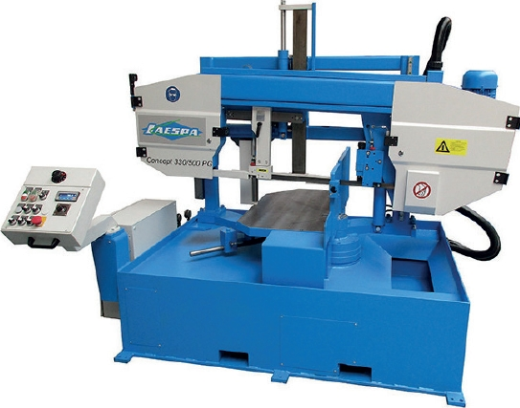 JAESPA Concept 330/500 PG - Semi-automatic Bandsawing Machine, double-column type for mitre cuts to