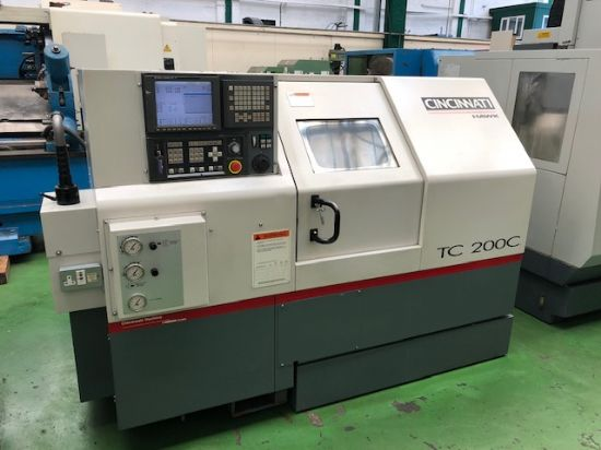with GE Fanuc 21i-T Control. Year 2002 210mm Chuck, 52mm Bar Capacity. Tailstock, Toolsetting Probe