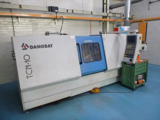 Driven Tooling, C Axis, 1000mm Between Centres, 450mm Swing, GE Fanuc Series 21iT Control, Swarf Con