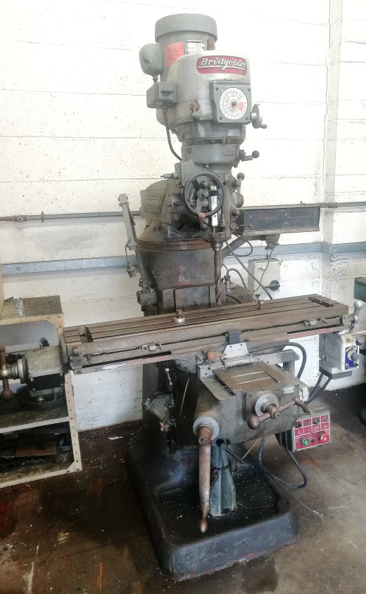 Bridgeport by Adcock & Shipley - Vertical Milling Machine