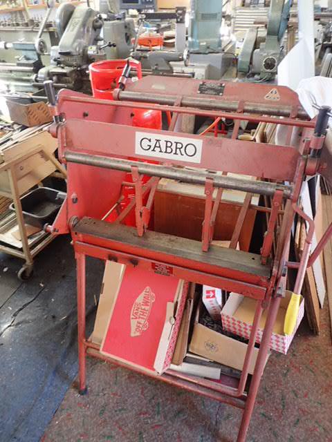 Gabro BF620-2 Box & Pan Folder