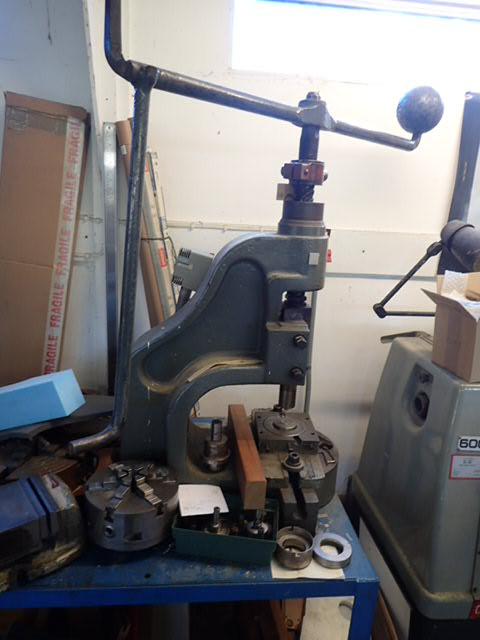 Norton 4DB Fly Press c/w Punches & Dies