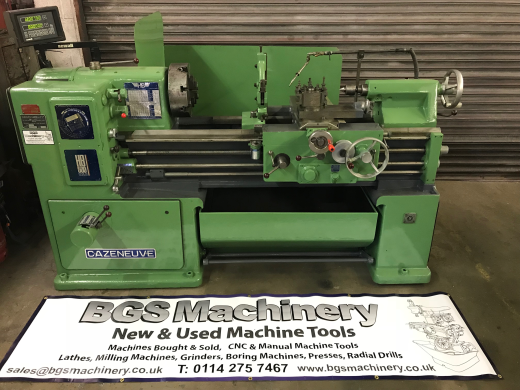 Cazeneuve Centre Bed Lathe